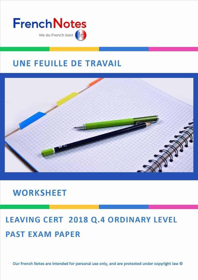 Leaving Cert Worksheet