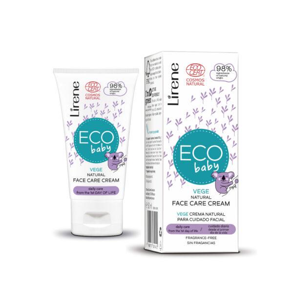 Økologisk EcoCert certificeret ansigtscreme til baby