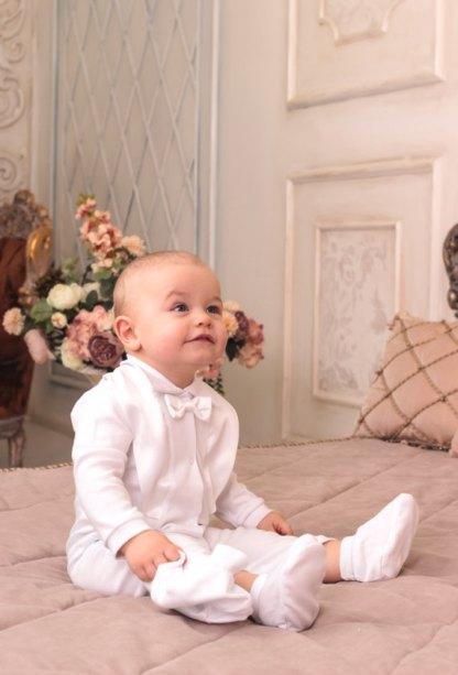 Costume blanc garçon