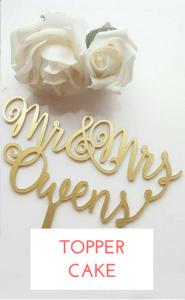 shopping topper cake mariage
