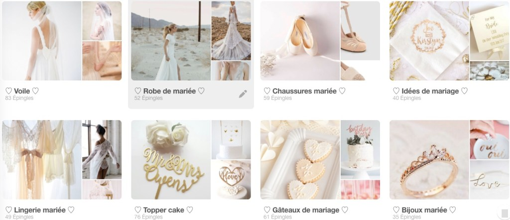 tableaux pinterest - Bilan de blogging