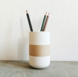 Pot à crayon minimaliste