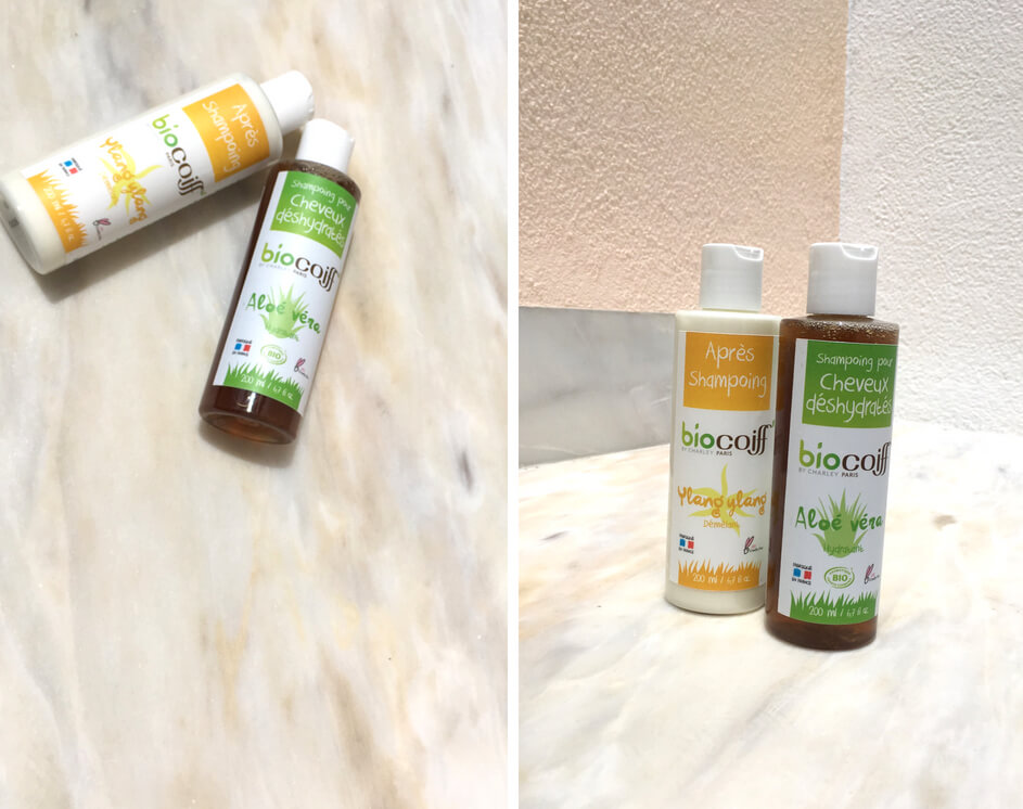 routine capillaire saine : shampooings BioCoiff'