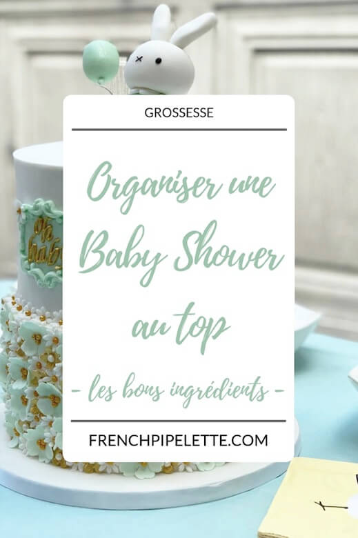 Organisation baby shower