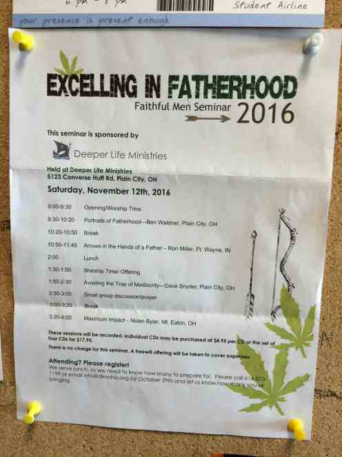 Excelling in Fatherhood 2016