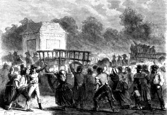 Girondists were tried and executed
