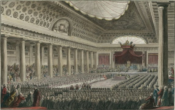 States-General Meeting on 5 may 1789