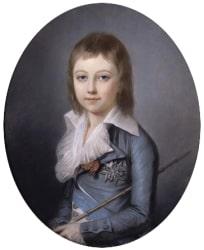 Death of Dauphin (Louis XVII)