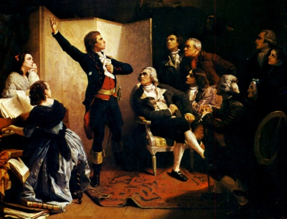 La Marseillaise was declared a national song.