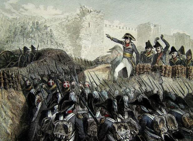 The Unsuccessful siege of Saint-Jean-d'Acre