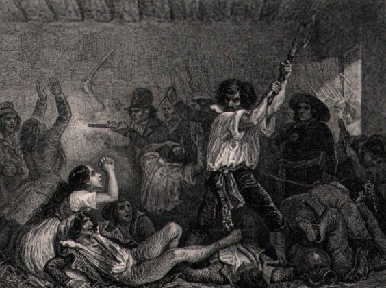 White Terror against the Jacobins