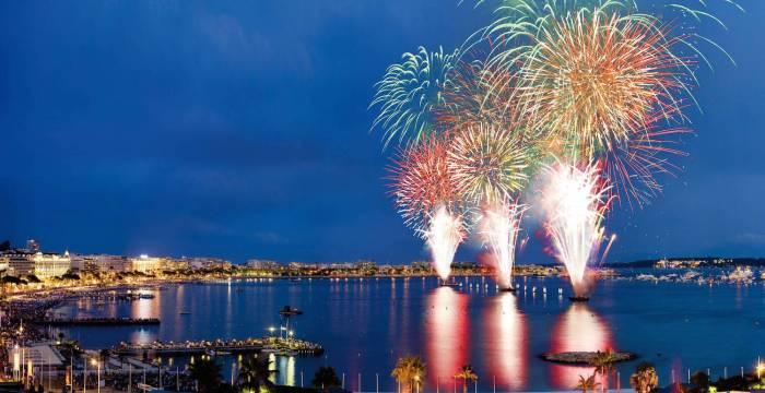 Summer 2015 Fireworks in Cannes & Monaco