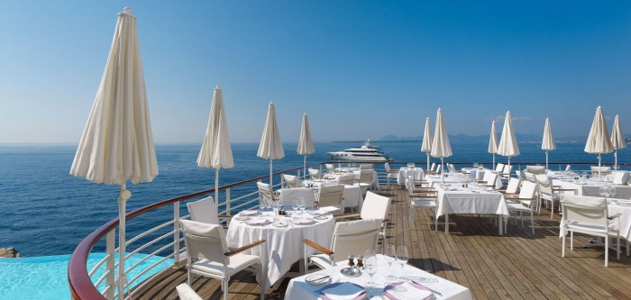 Eden-Roc hotel on the Cap d'Antibes, France