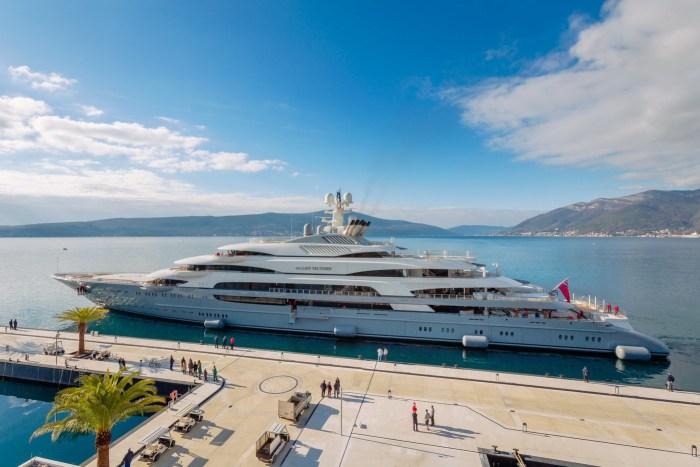 Ocean Victory superyacht in Montenegro