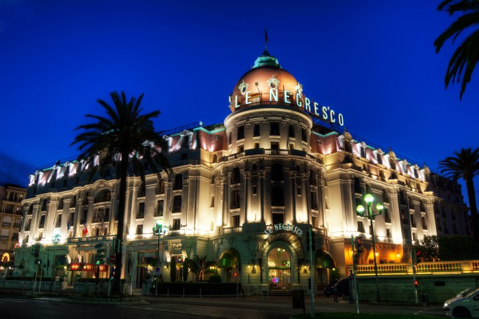 Hotel Negresco in Nice, France