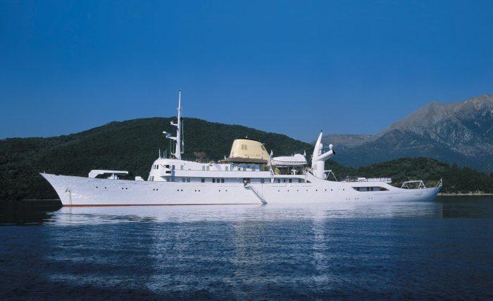 Yacht CHRISTINA O
