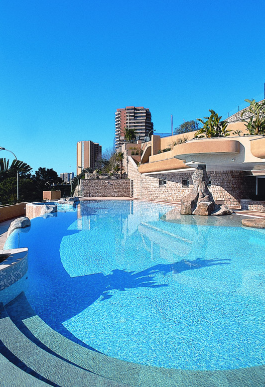 Swimming pool at Monte-Carlo Country Club in Monaco