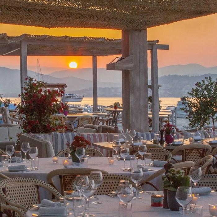 La Guerite restaurant Iles Lerins Cannes, France