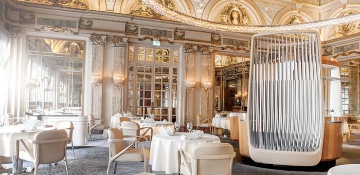 Louis XV restaurant Alain Ducasse in Monaco