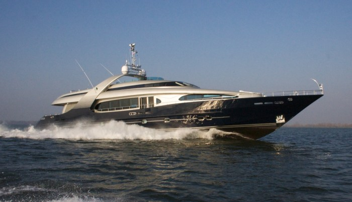 BLUE MAMBA yacht for sale profile