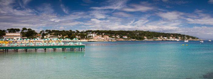 Garoupe beach clubs, Cap d'Antibes