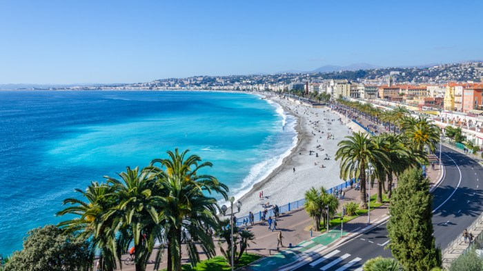 Baie des Anges in Nice, France