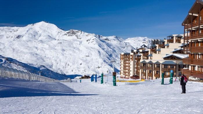 The French ski resort of Val Thorens