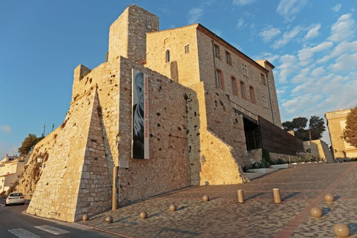 The Picasso museum in Antibes on the French Riviera