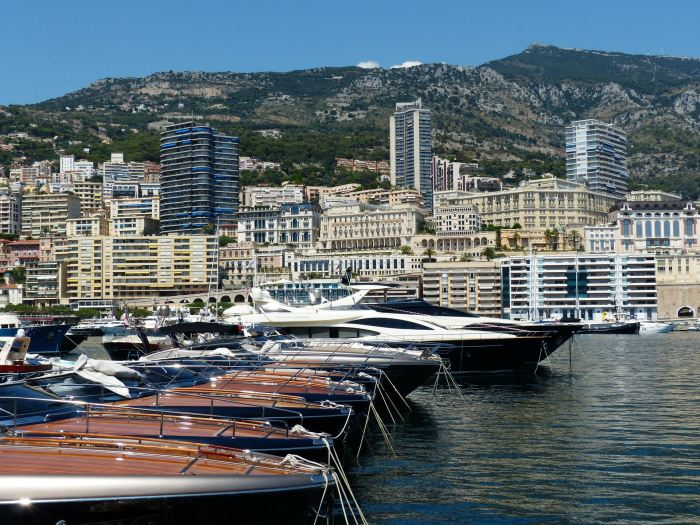 Riva boats in Monaco