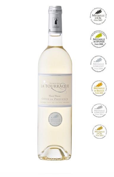 Domaine La Tourraque white wine