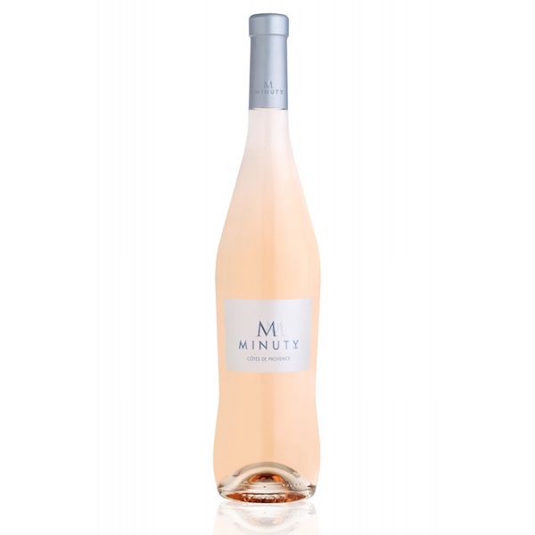 M Minuty rose wine from Provence