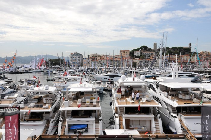 Yachts at Cannes Yachting Festival 2018