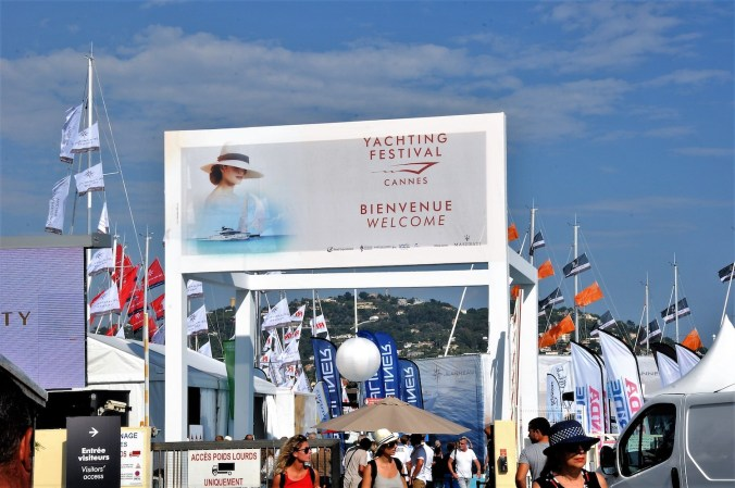 Cannes Yachting Festival 2018 entrance