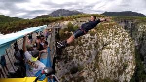 Bungee jump Pont Artuby