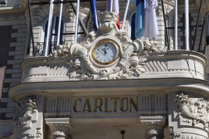 The Carlton hotel in Cannes, France