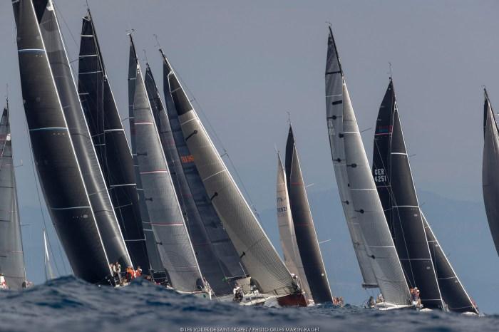 Les Voiles de St Tropez Sailing Regatta