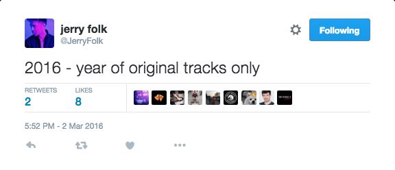 Jerry Folk Twitter Status