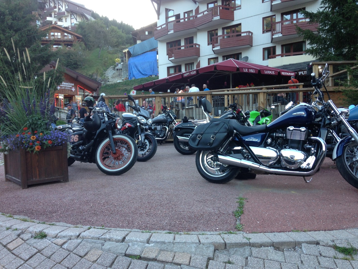 Bikes Parked Bourg St Maurice