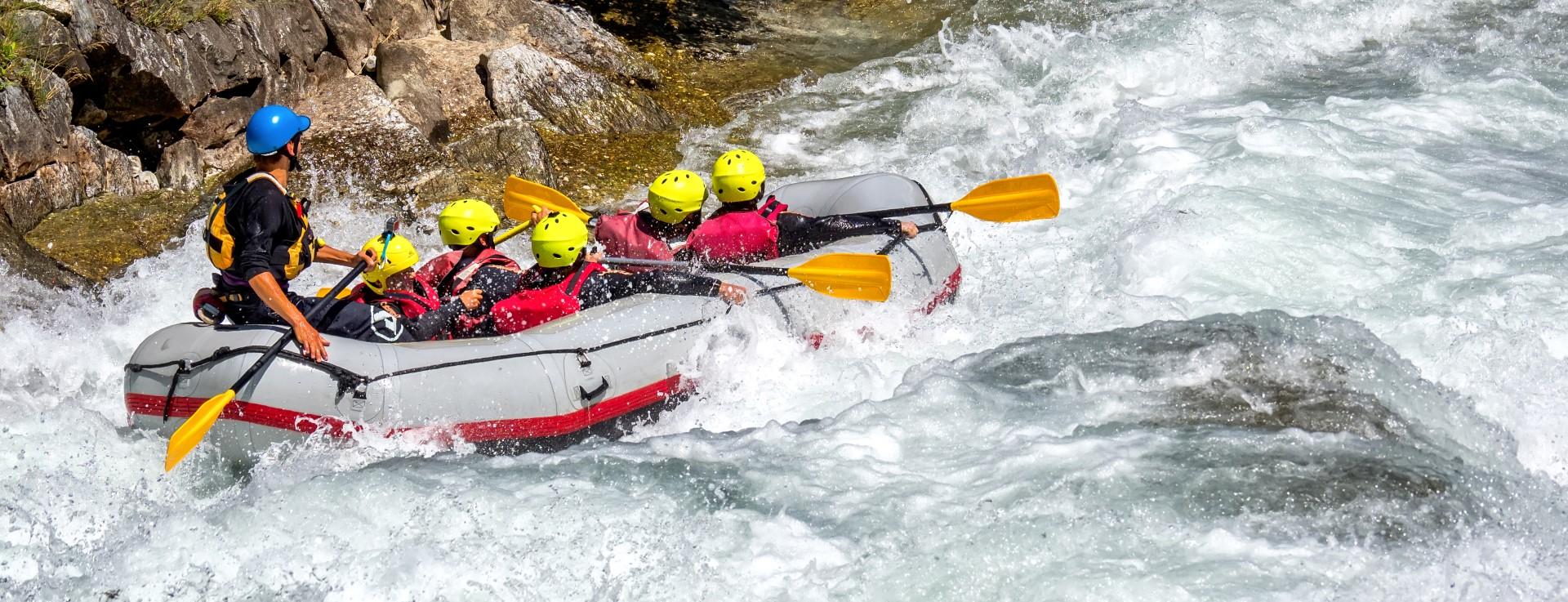 White Water Rafting Isere