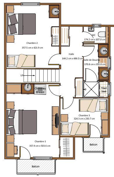 Chalet Clyde 2nd Floor
