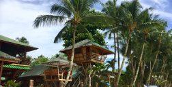 Hotel Ausan sur la plage de Port Barton