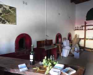 Tasting room and cellar at Ch Ricardelle - September 2017