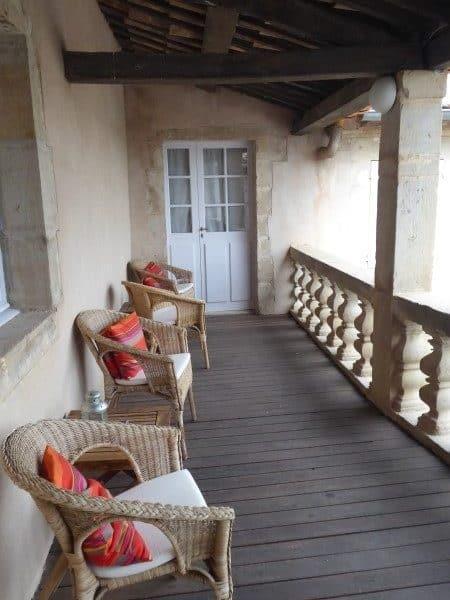 Chateau Jonquieres Balcony September 2017