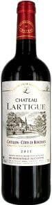 Chateau Lartigue bottle