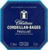 Pauillac label
