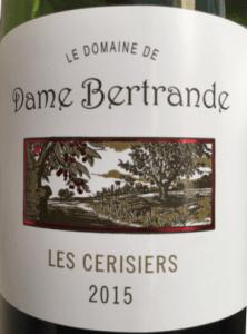 Dom Dame Bertrande wine
