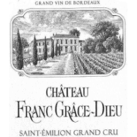 Ch Franc Grace Dieu wine label