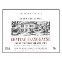 Chateau Franc Mayne wine label