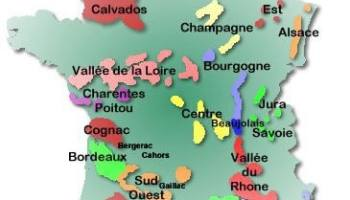 Map Of France Jura.Stay On A Vineyard French Vineyard Accommodation Map