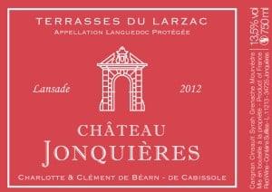 Ch Jonquieres label